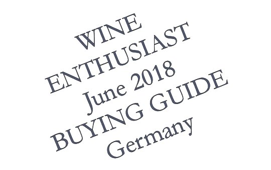 Wine Enthusiast 2018 Teaser